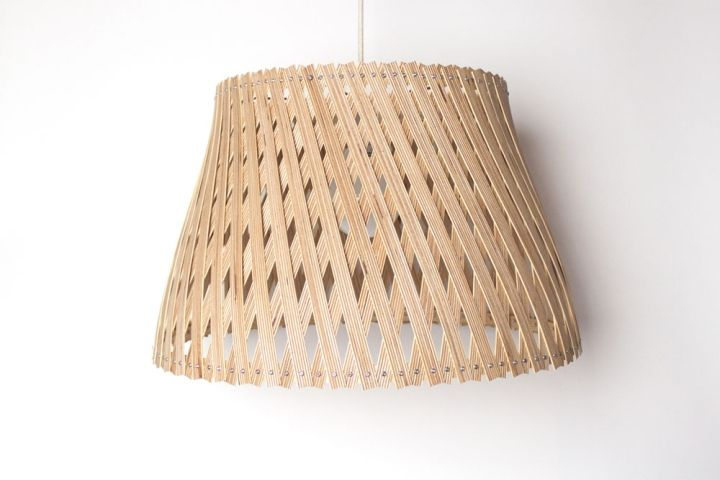 Amazing woven lamp Upcycle by Benjamin Spoth