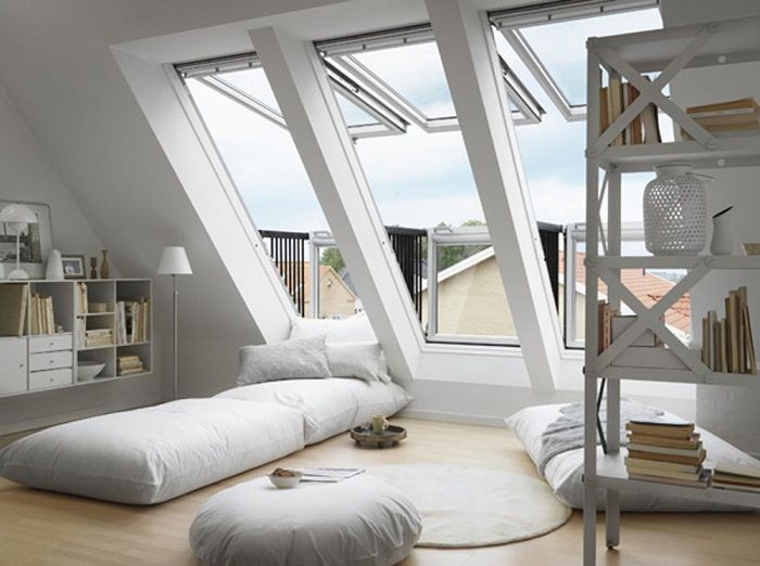 Bedroom with beautiful interior that will just be the best one for the decoration of the room under the attic.