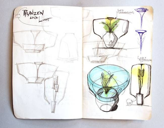 Designer glass lamps from Nui - Picture 1