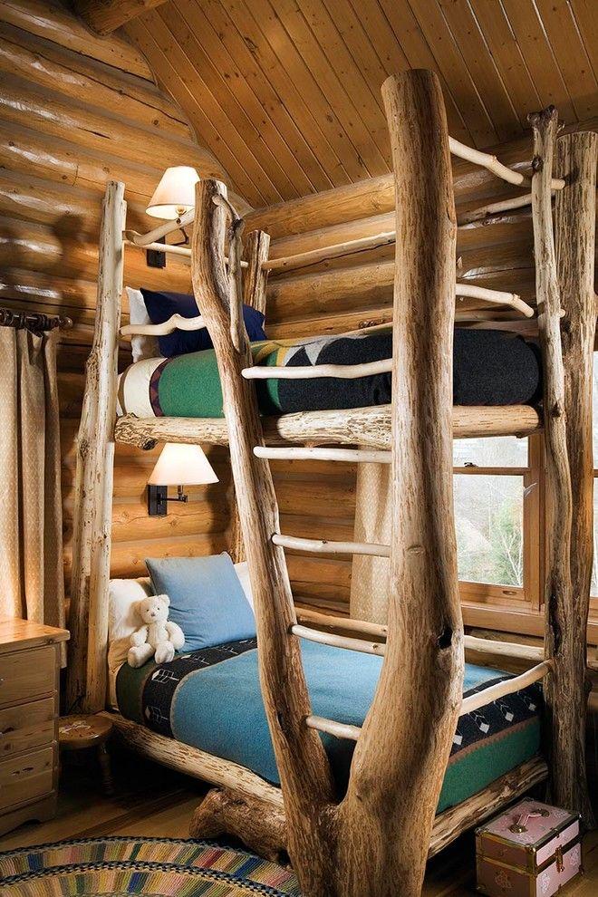 Как да направим Интериорът на дървени клонове
