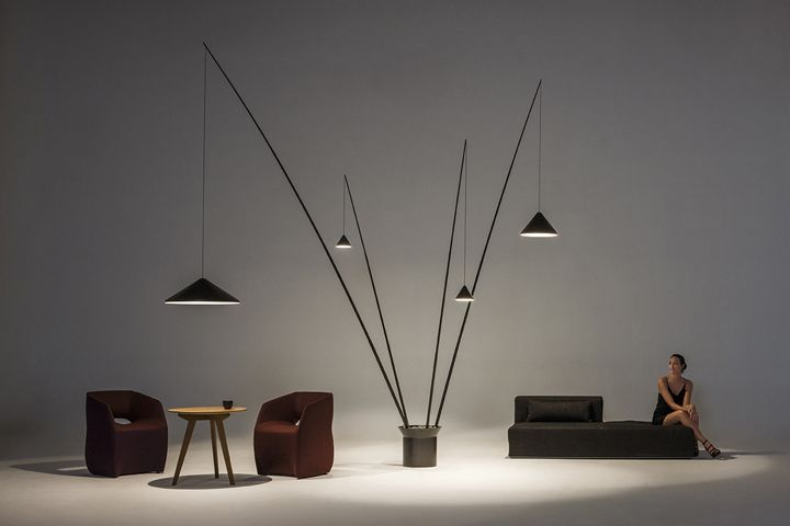 Minimalist collection of lamps by Arik Levy