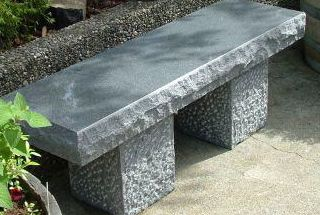 Little bench in marble