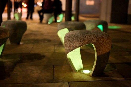 Външни пейки от Чарли Дейвидсън, Съндърланд, Великобритания