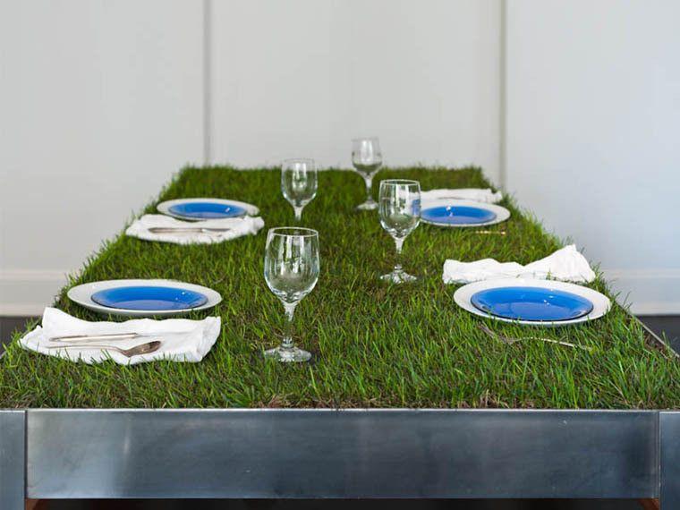 Таблица с трева на върха. Условия за грижи за него