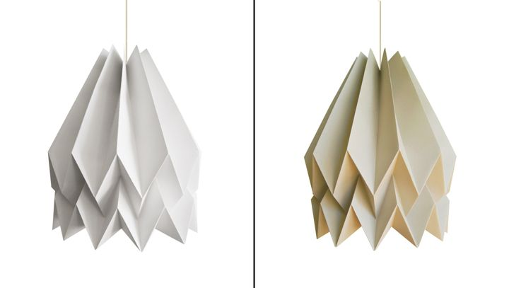 Fancy paper lamps