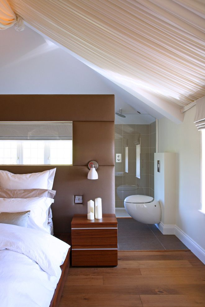 Beautiful wall lamp in the interior of the bedroom