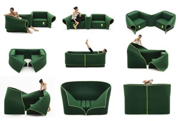 Convertible мебели за сядане
