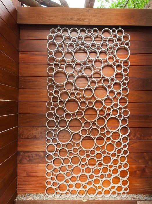 Творческо използване на PVC тръби в домакинството и интериора