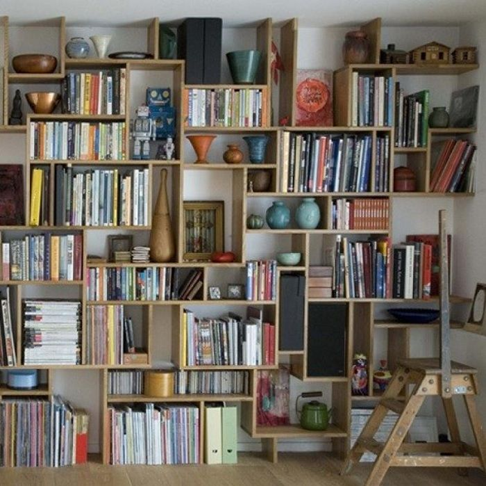 A place to store your favorite books and vases.