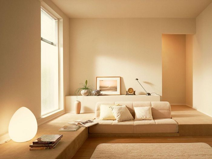 Sunny Mood possible to create in the guest room, without the slightest effort.