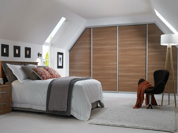 A good example of a compact design and a comfortable bedroom that would be a godsend.