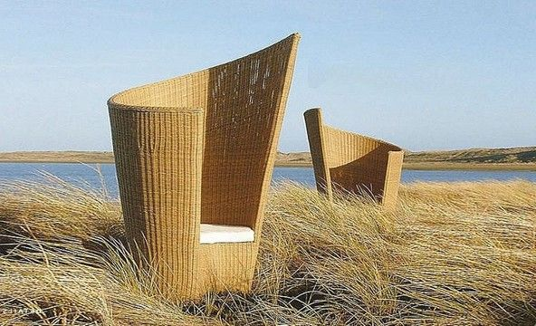 Garden Furniture - figure armchair