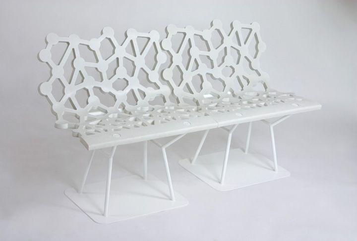 Открит Мебели Ductal от Olivier Chabaud и Leveque