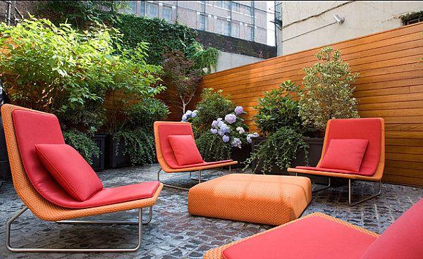 Варианти на градински мебели за вашата зелена площ