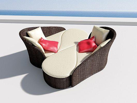 Модулна мебел: цвете - Fiore тераси за къщата