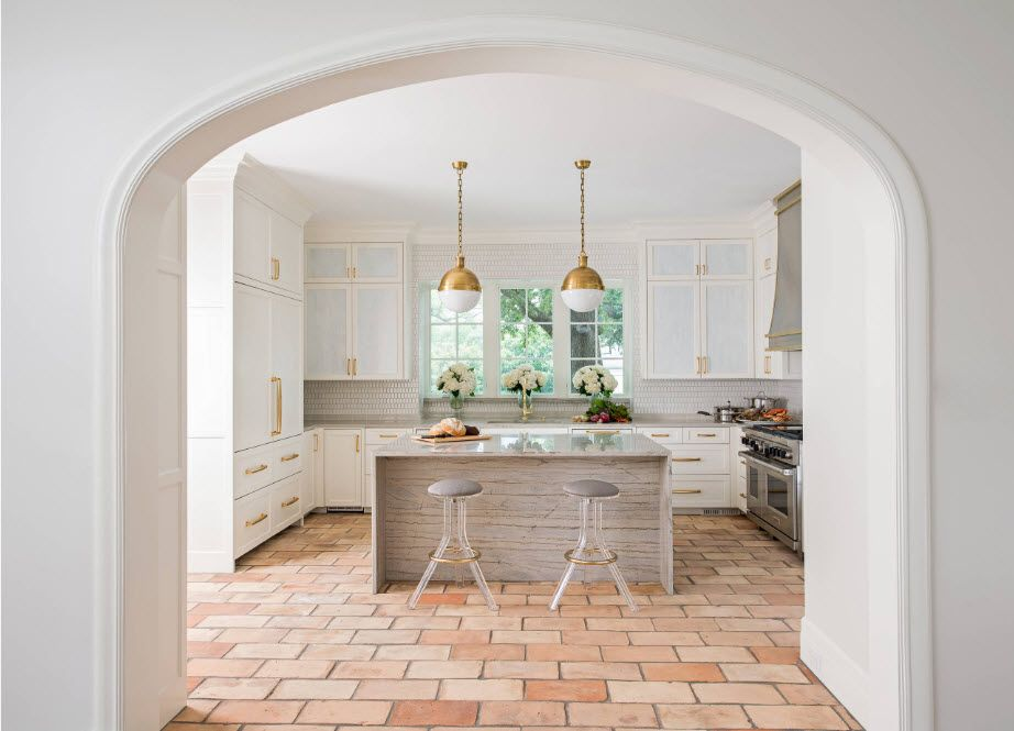 Shabby surfaces for kitchen design