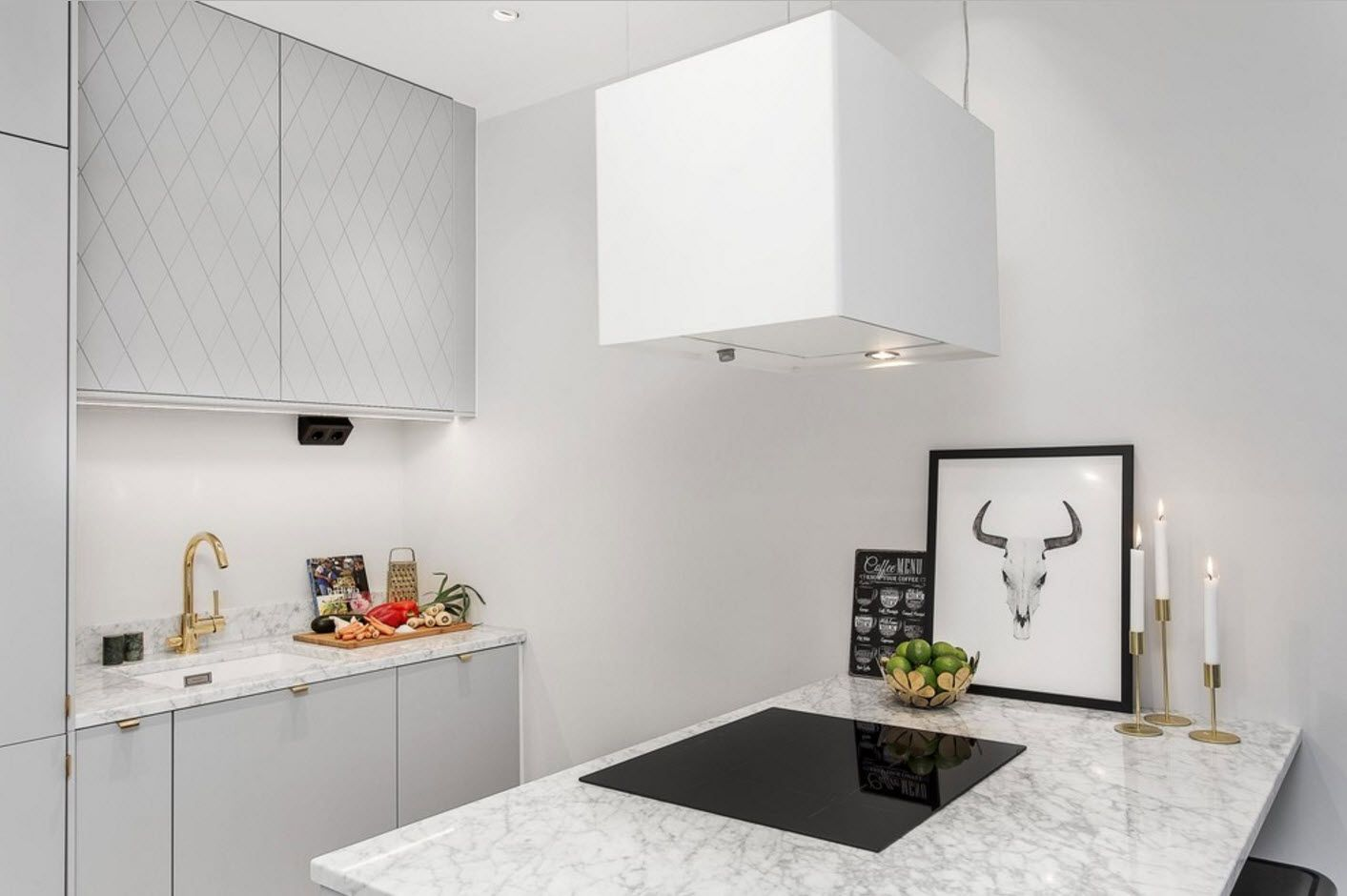 Design for a small kitchen