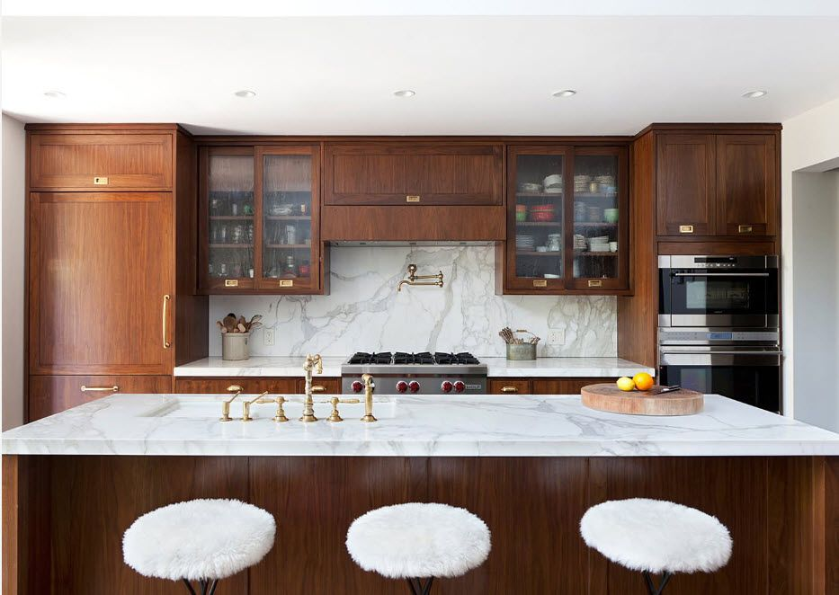 Contrast combinations for the kitchen