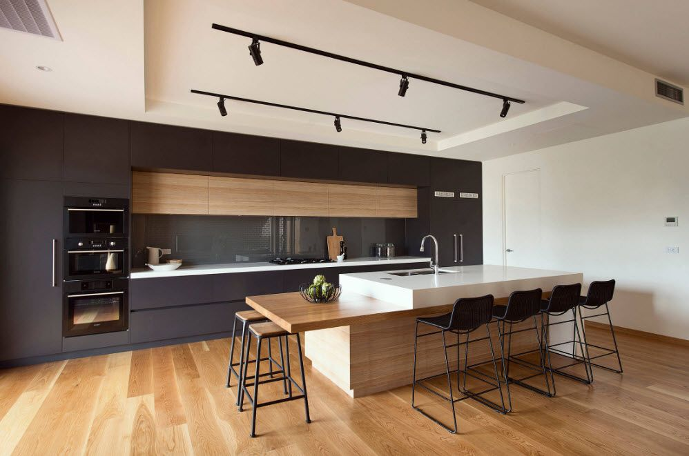 Contrasting kitchen performance