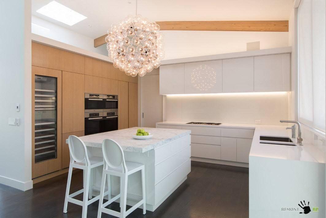 A legjobb tervezési ötletek a konyha 12 nm. m - egy fotót ...