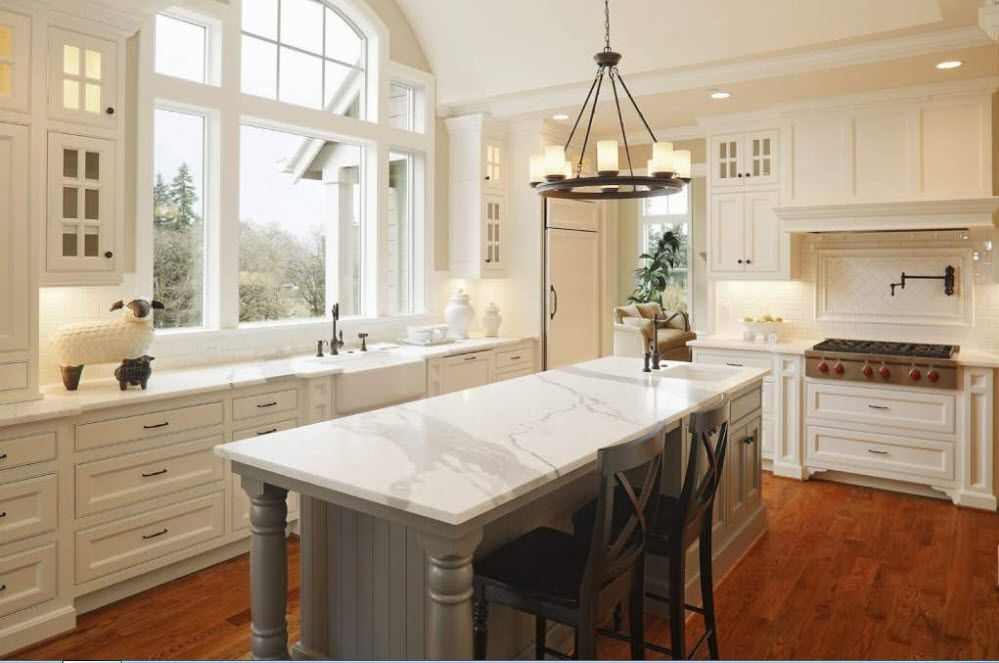100 best ideas for the kitchen: kitchen countertops on the photo