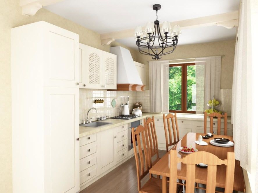 Provence for a small kitchen