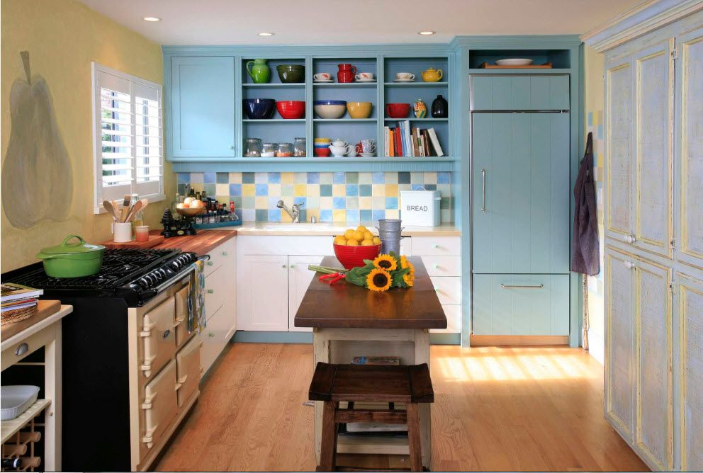 Furniture solutions for a spacious kitchen