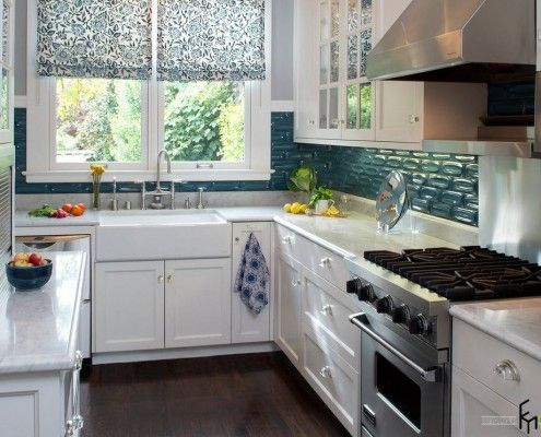 Beautiful and original curtains for the kitchen: window decoration ...