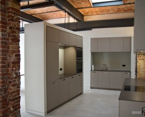 Advanced kitchen, loft