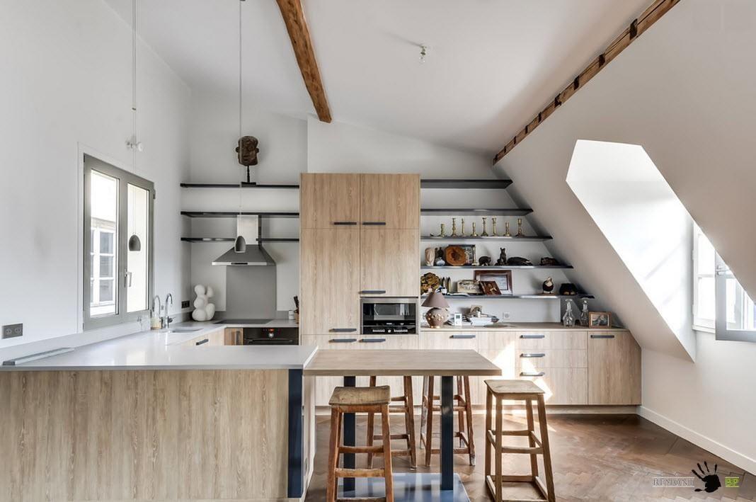 il layout a forma di u della cucina: 35 idee progettuali per la ... - Armadietti Della Cucina Idee Progettuali