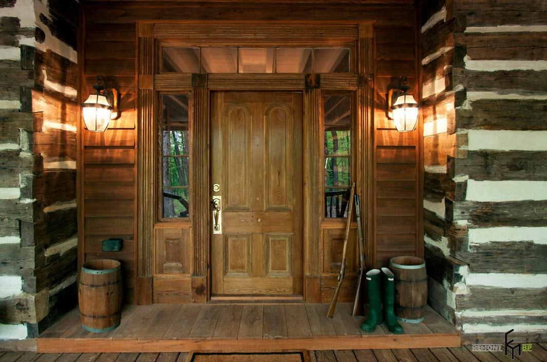 20 примера за дизайна на верандата в дървена къща - снимка