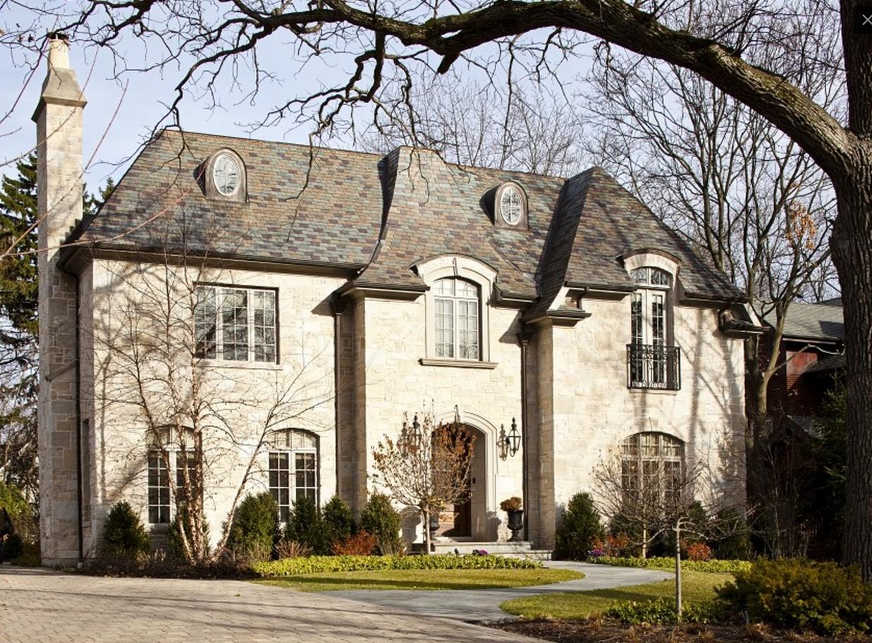 Дизайнът на фасадата на една къща: най-добрите идеи за екстериора на снимката