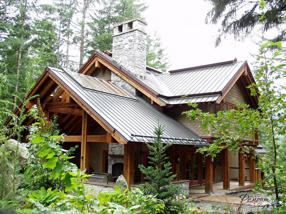 Финландски дома: характеристики на дизайна, външна декорация и архитектурни снимки