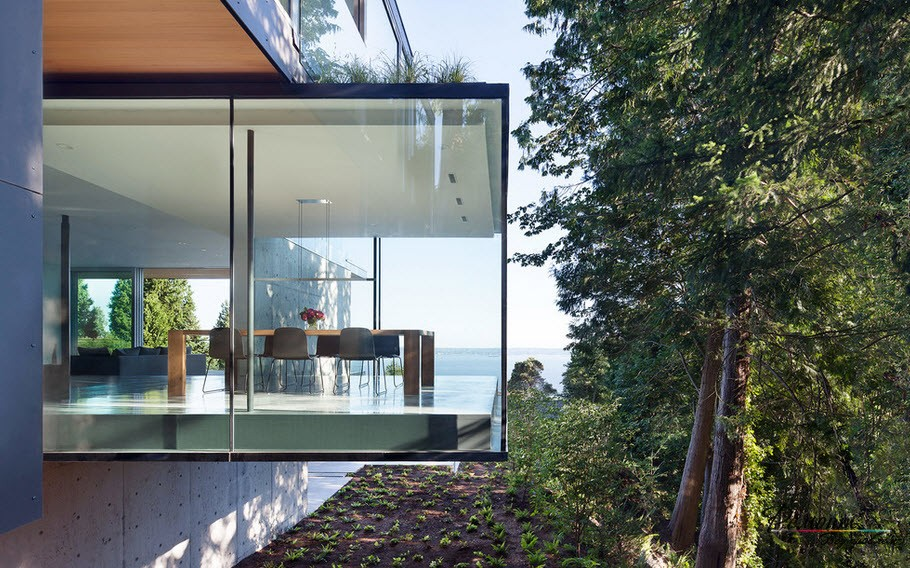 Beautiful glass houses, photo