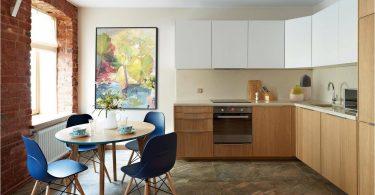 Kjøkken 8 kvadratmeter. m - vakre interiør med perfekt ergonomi