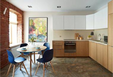 Кухня 8 кв. м — красивые интерьеры с идеальной эргономикой