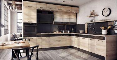 Hvordan kombinere fargeforkle og kjøkkenfronter