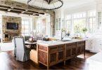 Кухня с темными полами — красивое, интересное и стильное решение в классическом и современном дизайне