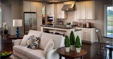 Liten sofa på kjøkkenet: funksjonelt sittegruppe for mer komfort