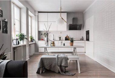 Дизайн кухни 9 квадратных метров: идеи на 2019 год