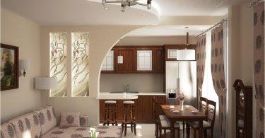Кухня-гостиная с барной стойкой: оригинальные идеи для интерьера