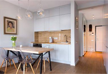 Кухня-ниша в разных частях дома и квартиры: интересные приемы и хитрости эргономичного интерьера