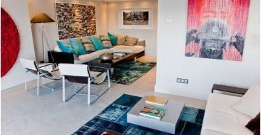 Мягкая мебель для современной гостиной – калейдоскоп идей