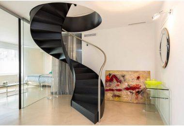 Spiraltrapp: Et grasiøst designelement i ditt hjem