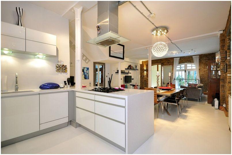 Kuchnia Salon O Powierzchni 30 Metrów Kwadratowych M