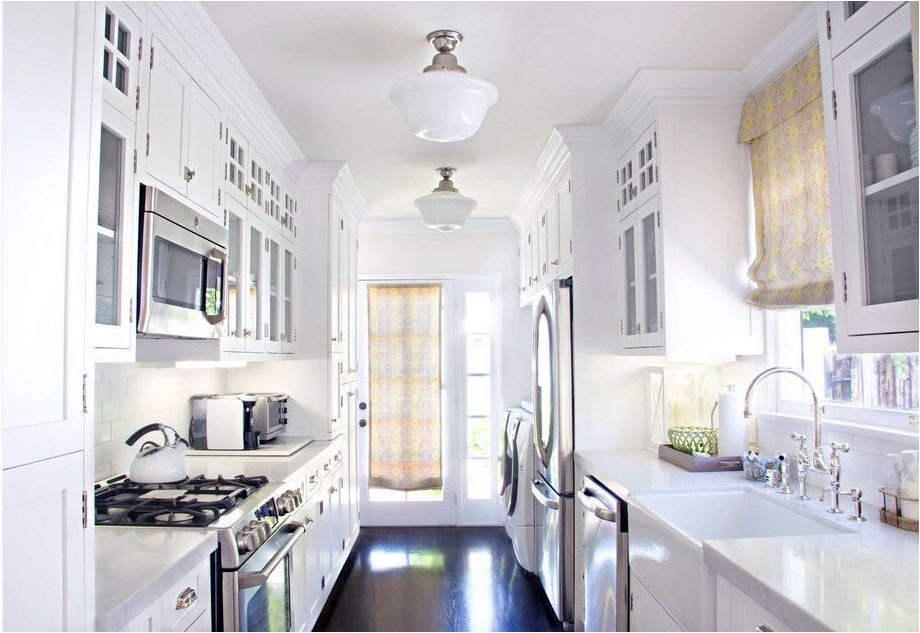 Washing machine in the kitchen: how to choose, tips and ideas-8999