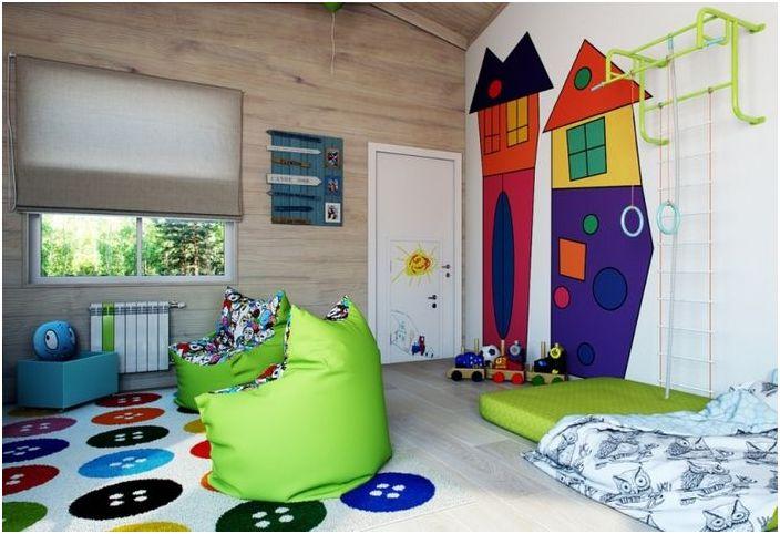 Forskjellige 5 ideer for et barnerom, som i likhet med alle voksne   dizainall.com GO-51